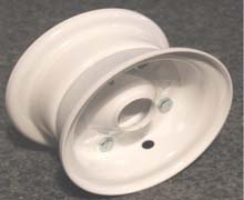 Eureka Bearing & Supply Pneumatic Tire Two Piece Wheels